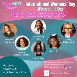 Glow West Podcast - International Women's Day – Live Panel: Ep 61